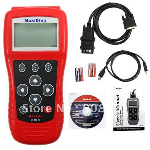Autel Maxidiag Elite MD802 (4 systems) upgraded by internet support multi-brands Diagnose OBDII/EOBD&PRE-OBDII VEHICLE(China (Mainland))