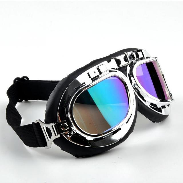 Motorcycle Glasses Goggles Ski Dirt Bike Cycling Lens Frame Goggles Windproof Filter Glasses Sunglasses Off-Road Eyewear