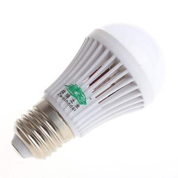 Roadmap Zweihnder E27 3W 280LM 10x2835 SMD LEDs Radiating Globe Bulb (AC 220-240V)(China (Mainland))