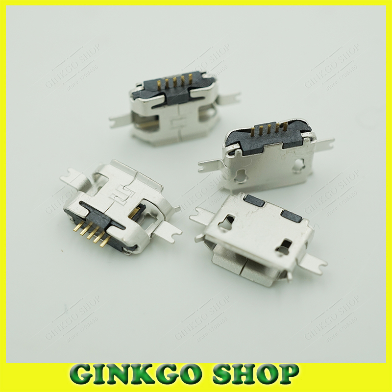 1000pcs/lot micro usb female connector tail sockect for Moto ME525+ DEFY MB525 1.6mm 2 SMT Foot Free shipping<br><br>Aliexpress