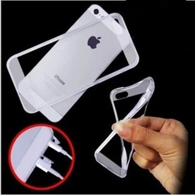 Transparent Protective Silicone Case/ Cover Fit iphone 4 4s Dust-proof Phone Case/Shell- - Trends-Mall store