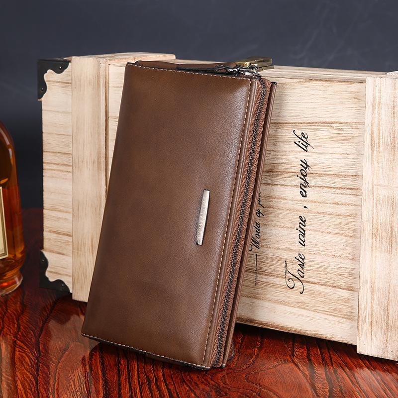 Ouyadi Wallet Zipper young mens handbags bag large leather hand bag business<br><br>Aliexpress