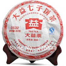 [GRANDNESS] 2011 yr Yunnan Menghai Dayi Taetea 0532 101 Ripe Puer Pu Er erh cake ,Qi Zhi Bing Cha puer tea 357g cooked - CHINA GRANDNESS TEA CO.,LTD store