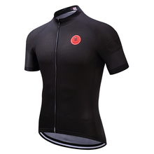 Buy Weimostar Black Cycling Jersey Men bike clothing bicycle jersey top Men Ropa Ciclismo maillot MTB jersey short sleeve Summer for $12.71 in AliExpress store