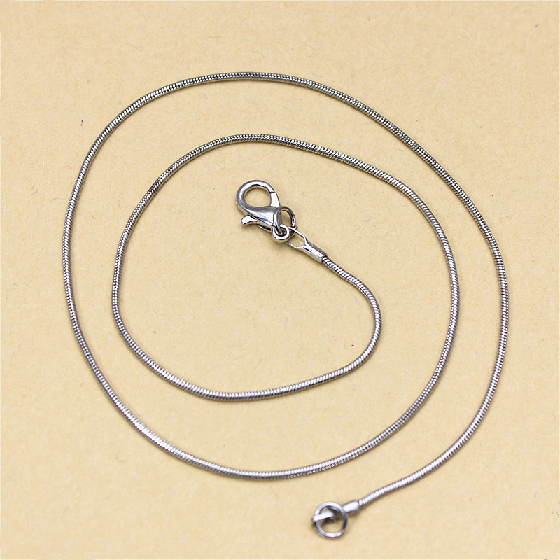 2017 new fashion brand jewelry metal pendant necklace for women simple snake chain gift necklace free shipping(China (Mainland))