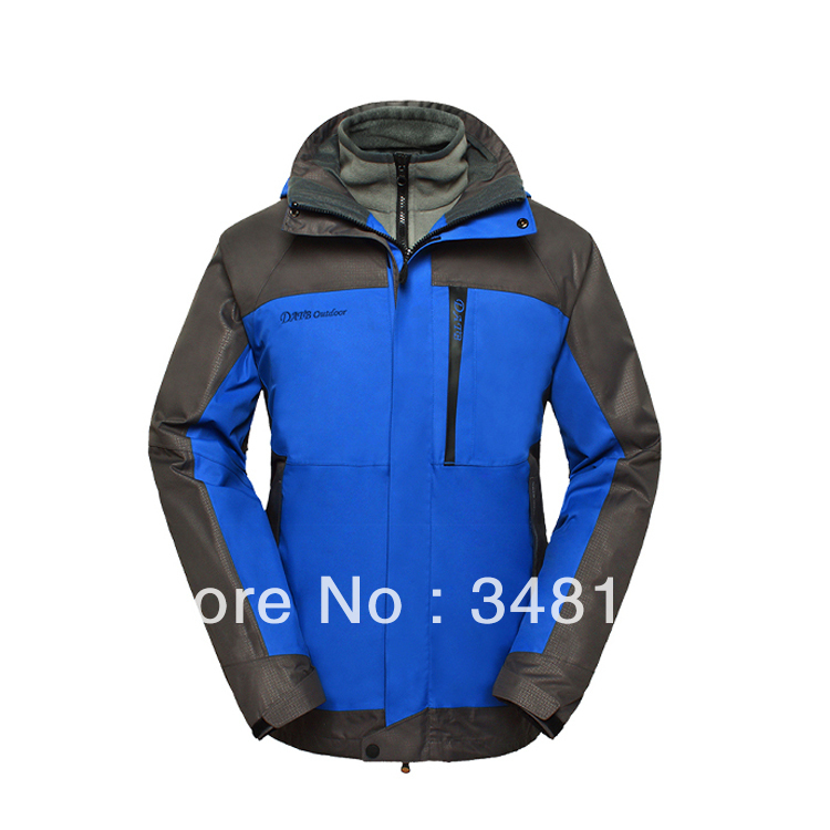 Genuine multi-piece fleece liner jacket waterproof windproof ski mountaineering warm datb - Integrity of outdoor shop store