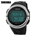 Outdoor LED Sports Watches Pedometer Heart Rate Monitor Calories Counter Digital Watch Military Fitness for Men