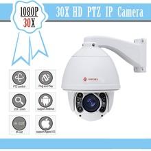 Full HD 1080 P câmera ip PTZ 30X zoom CCTV Hikvision camear auto tracking PTZ ip câmera night vision IR 150 m à prova d ' água IP66
