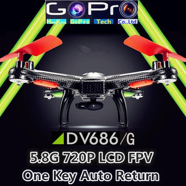 WLtoys V686 plus DV686 FPV Headless Mode 6Axis Gyro FPV Quadcopter UFO Drone with HD Camera VS H9D H12c V666 QR y100 jjrc v686(China (Mainland))