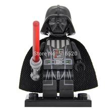 Wholesale Star Wars Minifigure Darth Vader Single Sale Building Blocks 20pcs/lot Starwars Sets Models Mini Figures Bricks Toys