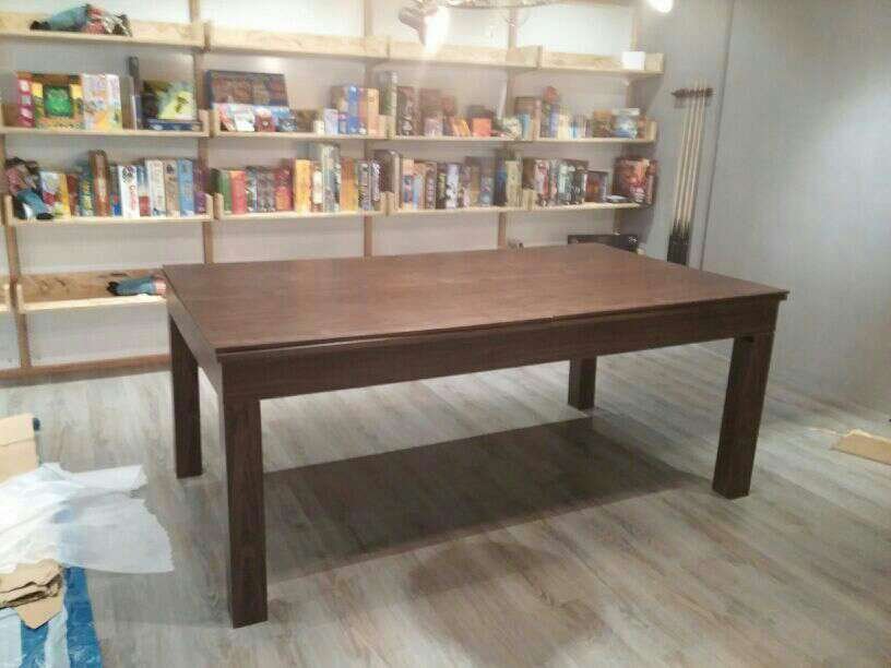 Solid wood dining room / billiards / dining table / multifunctional solid wood dining table(China (Mainland))