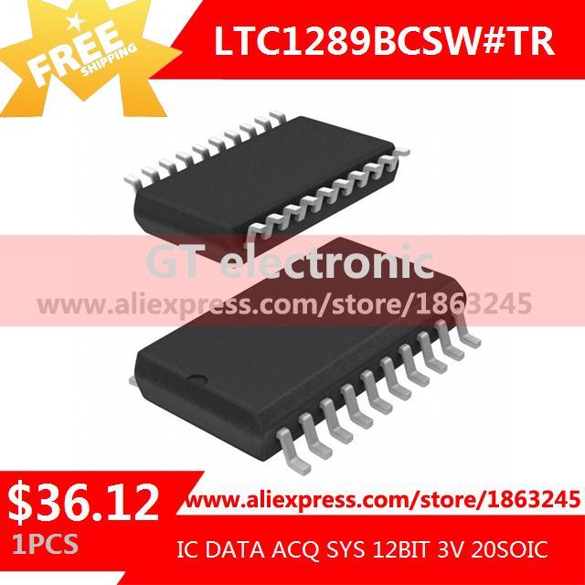 Free Shipping IC Integrated Circuit LTC1289BCSW#TR IC DATA ACQ SYS 12BIT 3V 20SOIC LTC1289BCSW 1289 LTC1289 1pcs(China (Mainland))
