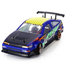 Best Quality HSP 94123 1/10 Scale 2.4G 4WD Drift Electric RC Car 80KMH RTR Version High Speed Car(China (Mainland))