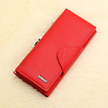 Ladies Women Wallets Fashion Purses Long Wallet Women Elegant Female Red Women s Wallets Woman Leather