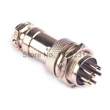Buy 5Pair=10Pcs GX16 GX16-8 8P 8Pin 16mm Male&Female Wire Panel Connector plug Circular Aviation Connector Socket Plug for $6.12 in AliExpress store