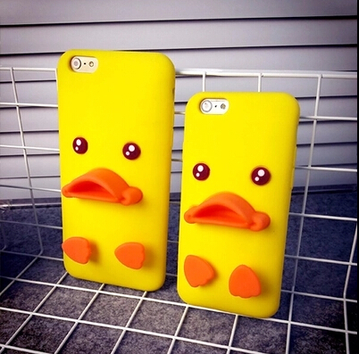 3D Ugly Duckling Soft Silicon Protective Back Cover Phone Case For Iphone 4 4S YC363(China (Mainland))