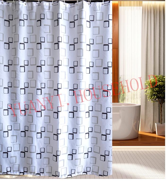 """Cortinas De Baño Lavables: cortinas de ducha a prueba de agua lavable Bath cortinas 72 * 72 """" los"""