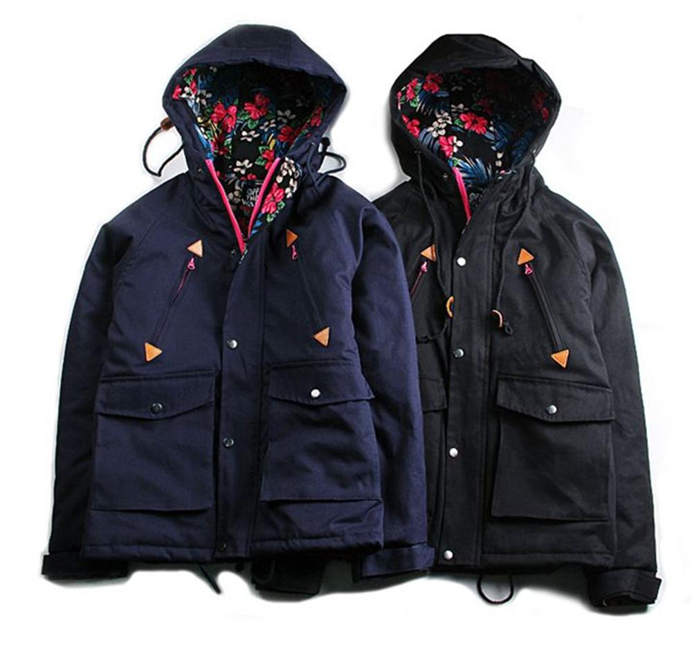 2015 New Fashion Winter Jacket Men Hooded Zipper parka men napapijri - susansuusan shop store