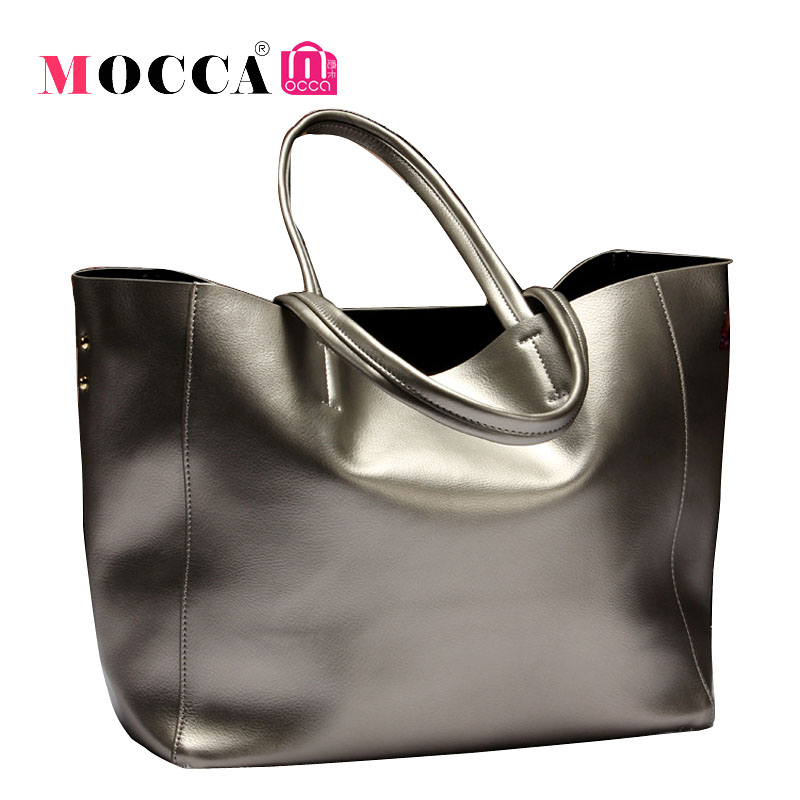 Famous Brand Women Real Genuine Leather Tote Shopping Bag Designer Handbags Large Shoulder Bags Vintage Bag Bolsas Femininas Sac(China (Mainland))
