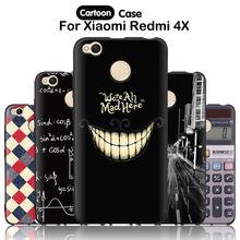 "Buy JURCHEN Back Cover Xiaomi Redmi 4X Silicon Case Soft Cartoon Phone Case Xiomi Redmi 4X Case 5.0"" Hongmi 4X Capa 30 for $1.85 in AliExpress store"