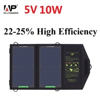 ALLPOWERS 10W Sunpower Solar Charger Panel Solar Battery for cellphone, iPhone 6s  6 Plus, iPad mini, Galaxy S6 and More