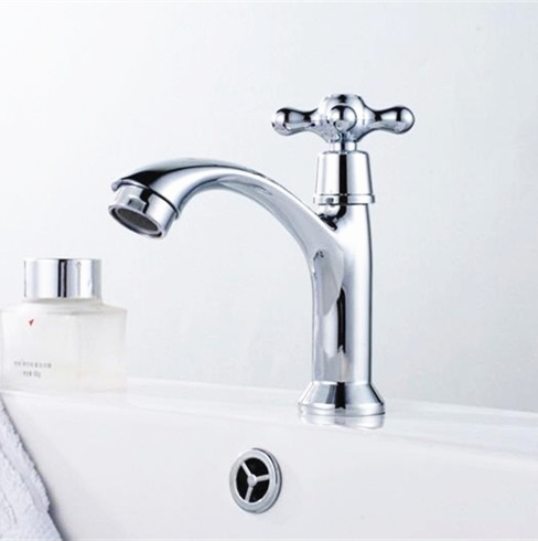 Free Shipping Classic And Rustic Bathroom Faucets Single Cold Bathroom Basin