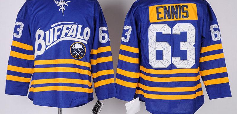 sale 118.99 best quality buffalo sabres mens jerseys 63 tyler ennis blue ice hockey jersey