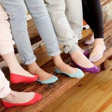 Socks summer candy factory direct five Korean girls color-slip socks absorb sweat deodorant stealth ship socks wholesale(China (Mainland))