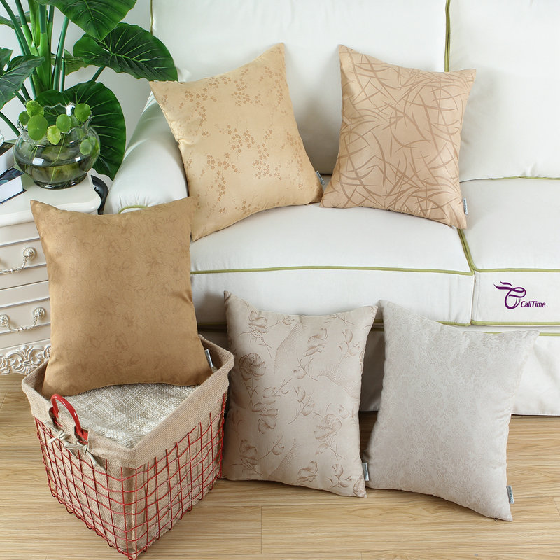 Aliexpress.com : Buy CaliTime Cushion Cover Decorative Pillow Shell Home Sofa Bedding Set Super ...