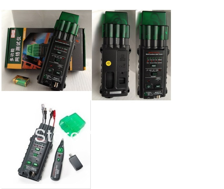 MS6813 Multifunction Network hunt instrument cable tester hunt can be measured RJ45 RJ11 T568A, T568B, 10Base-T Token Ring(China (Mainland))