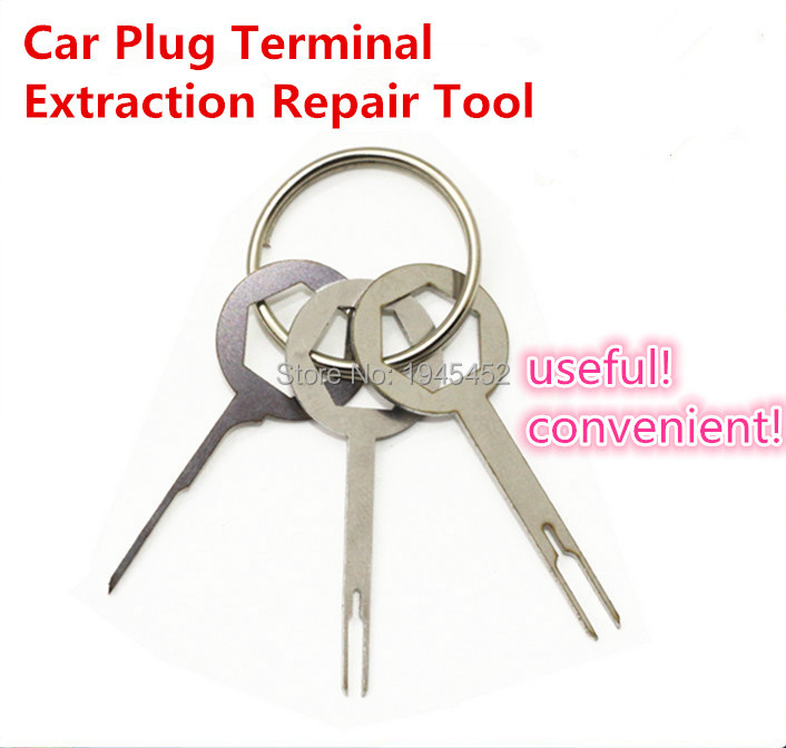 online get cheap connector pin remover removal aliexpress com auto car plug circuit board wire harness terminal extraction pick connector crimp pin back needle remove tool set