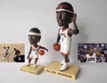 New Toy Figures/Basketball star resin doll model/Car model Automobile decoration doll/Iverson doll model souvenir ornaments