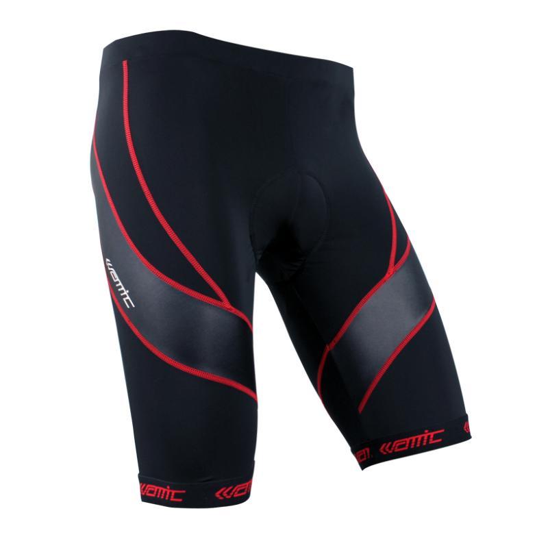 Гаджет  2013 Men Cycling Shorts Pants Tights Padded Road Mountain Bike MTB Bicycle Cycle Sportwear Black With Blue/Red line S-3XL None Спорт и развлечения