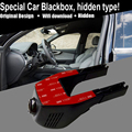 Hidden installation car blackbox 1080P HD video recording wifi connection applicable for all cars