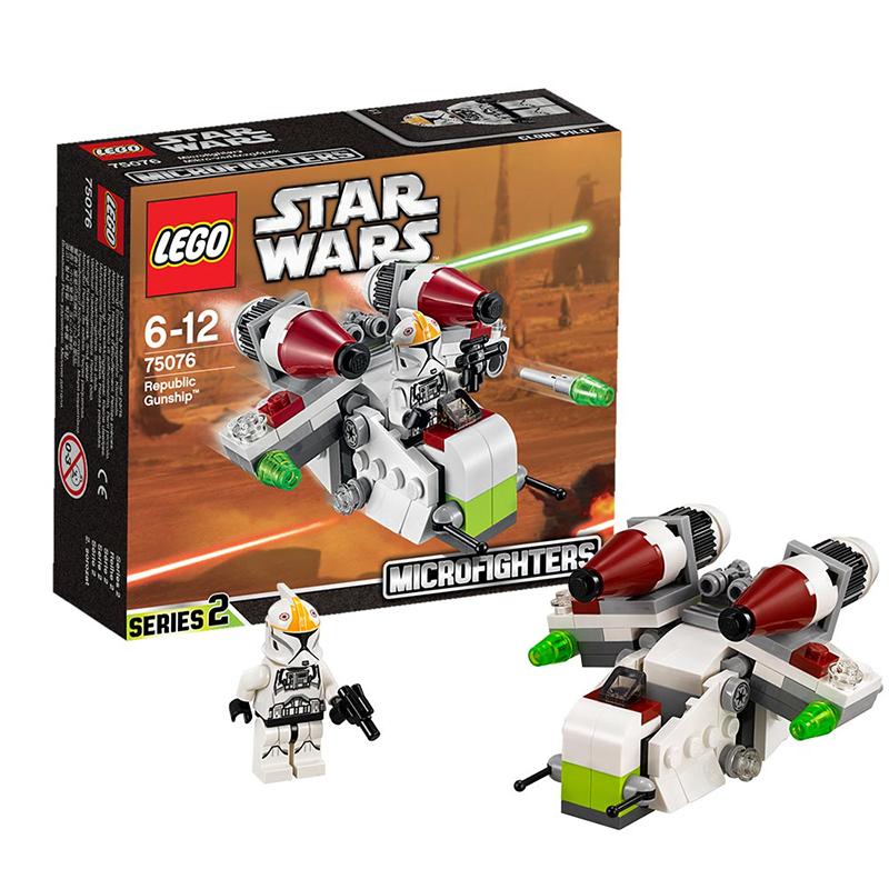 Free shipping Star Wars Republic Gunship Free shipping STARWARS STARWARS 75076 Toy building blocks<br><br>Aliexpress
