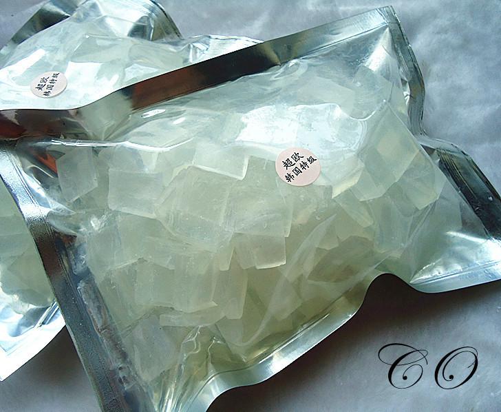 New arrvial 500g Glycerin Transparent Soap Base DIY Handmade Soap Raw Materials Soap Base(China (Mainland))