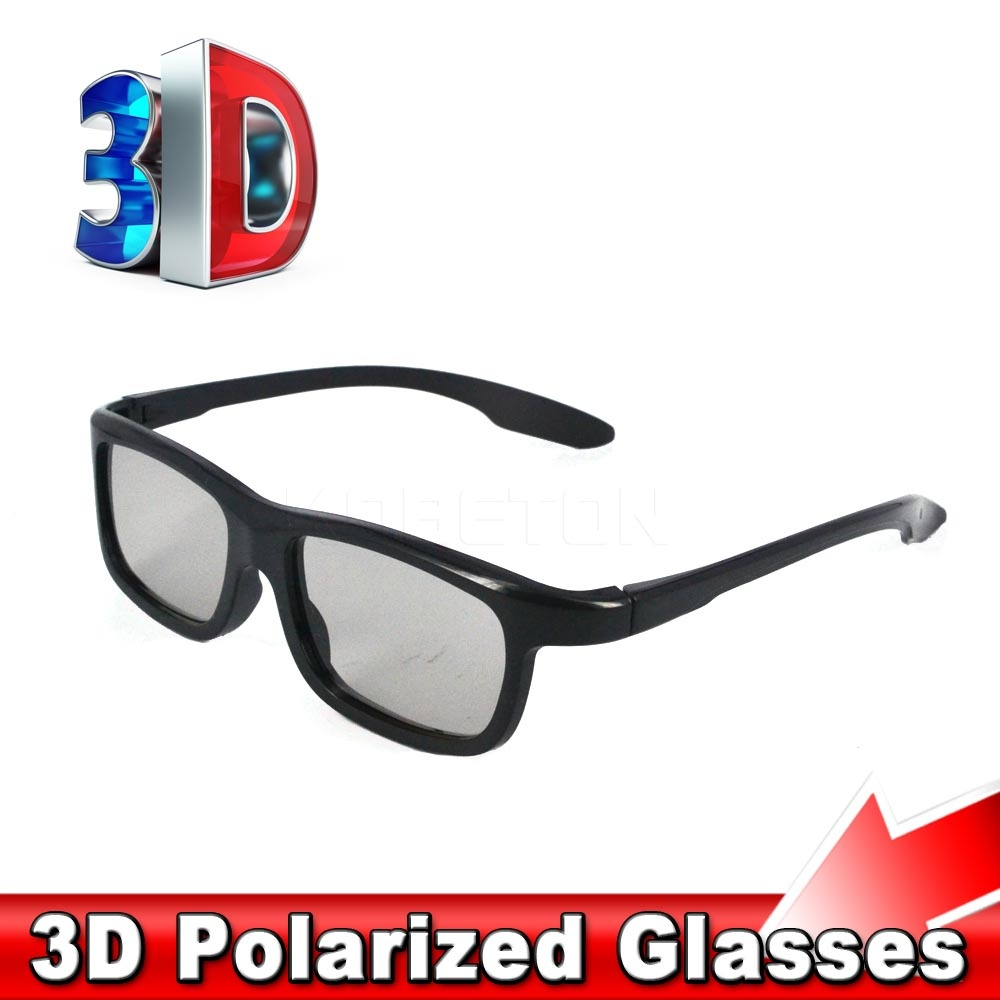 5pcs 2016 New Fashion Passive Polarized 3D Glasses for Sony for LG for Samsung Dimensional Anaglyph Movie DVD TV LCD Video Game(China (Mainland))