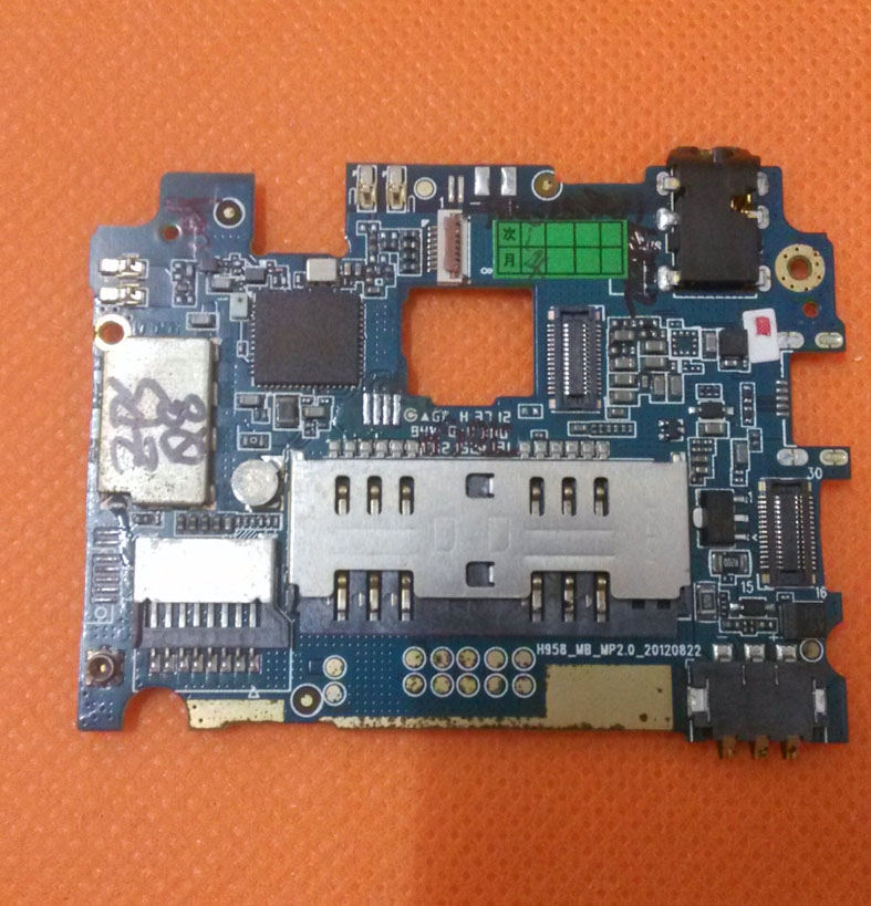 """Original motherboard 1G RAM+4G ROM mainboard for ZOPO ZP900 Smartphone 1GB 4GB MTK6577 1.0GHz 5.3"""" QHD Android 4.0 Free shipping(China (Mainland))"""