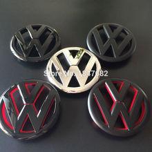 Haute qualité noir rouge argent chromé Volkswagen Golf 6 Logo calandre Emblem Badge Logo Fit VW Golf 6 voiture emblème décoration