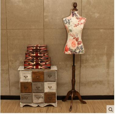 mannequins female bust cloth clothing store display hanger
