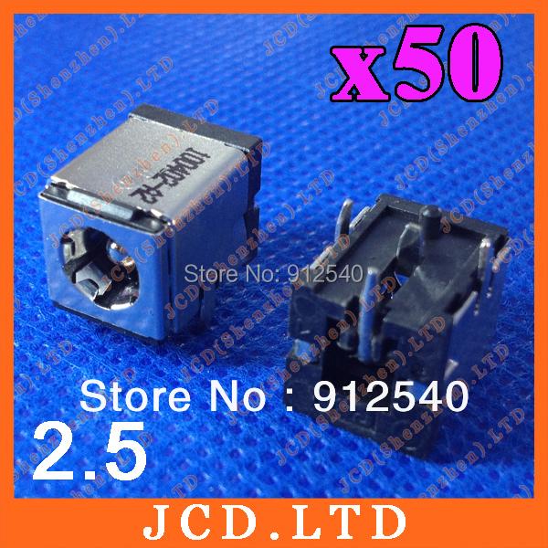 50X DC Jack Power Socket For Prostar 4004/Sager NP4020/Winbook W100/Fujitsu L1300 L7310 N6010<br><br>Aliexpress