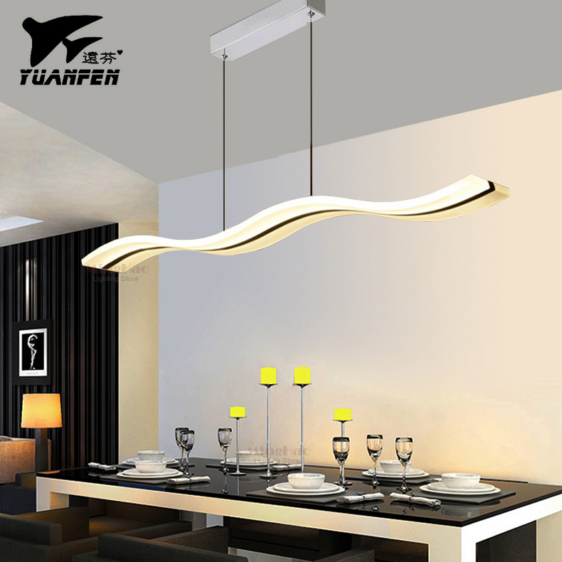 Buy Wave Shape 38W LED Modern Pendant