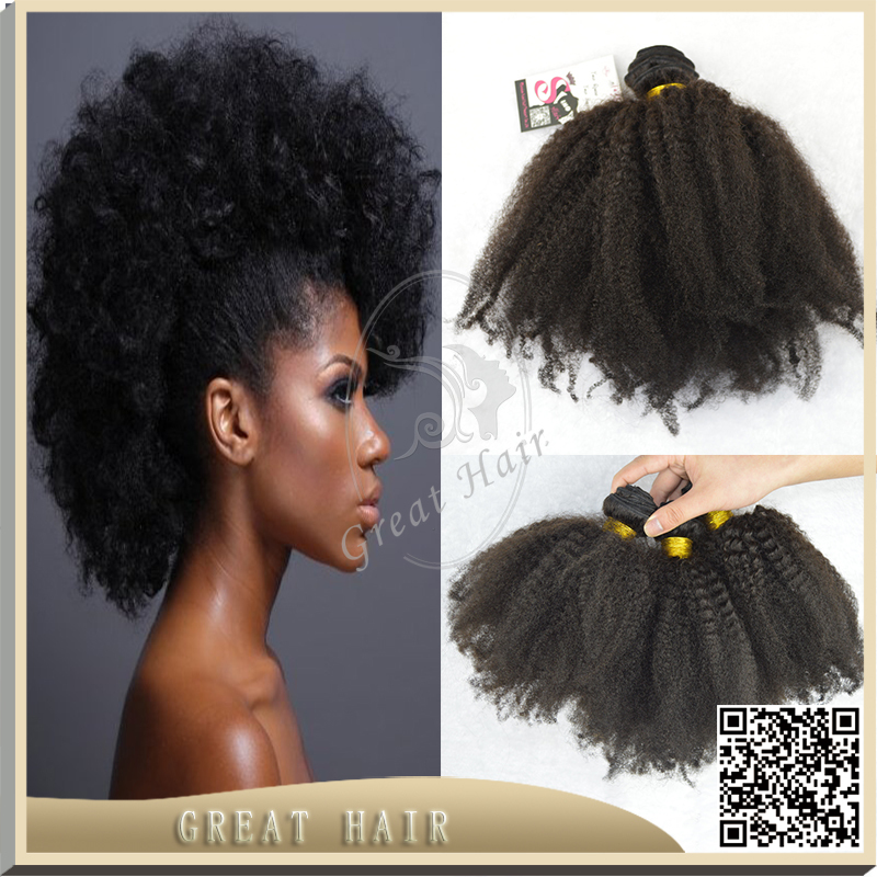 Afro Hair Extensions Great Hair 7a Peruvian Afro