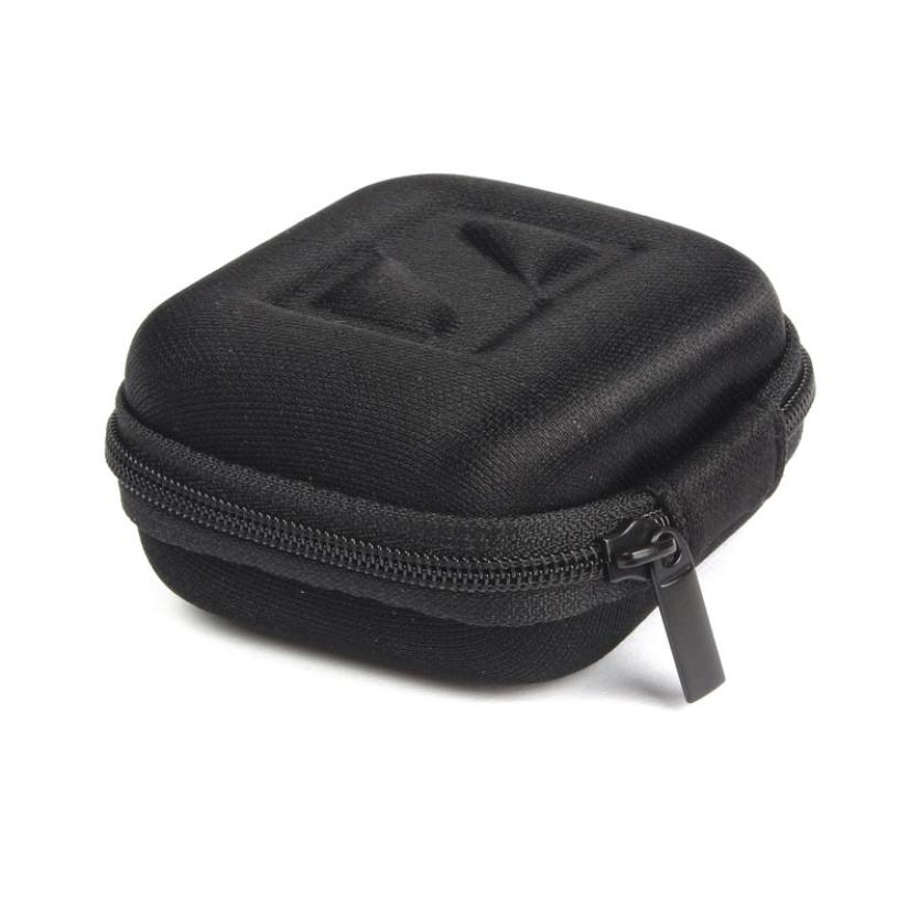 Hot selling NEW! Headphone Earbud Carrying Storage Bag Pouch Hard Case For Earphone 1PC(China (Mainland))