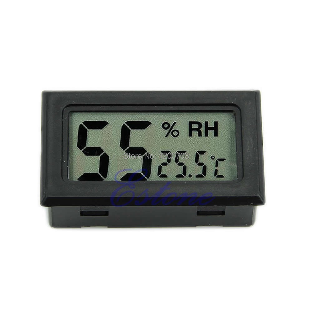 G104 Newest Mini Digital LCD Indoor Temperature Humidity Meter Thermometer Hygrometer New free shipping(China (Mainland))