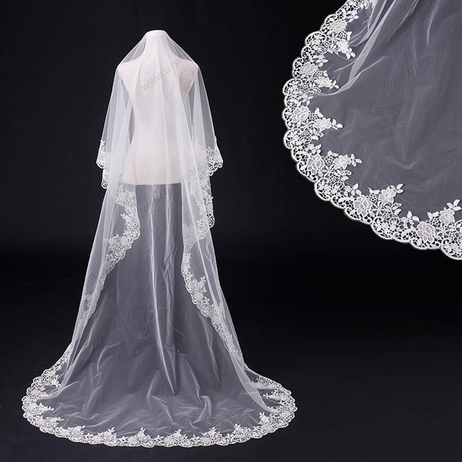 Online kaufen gro handel spitze kapelle schleier aus china for Brautschleier ivory einlagig