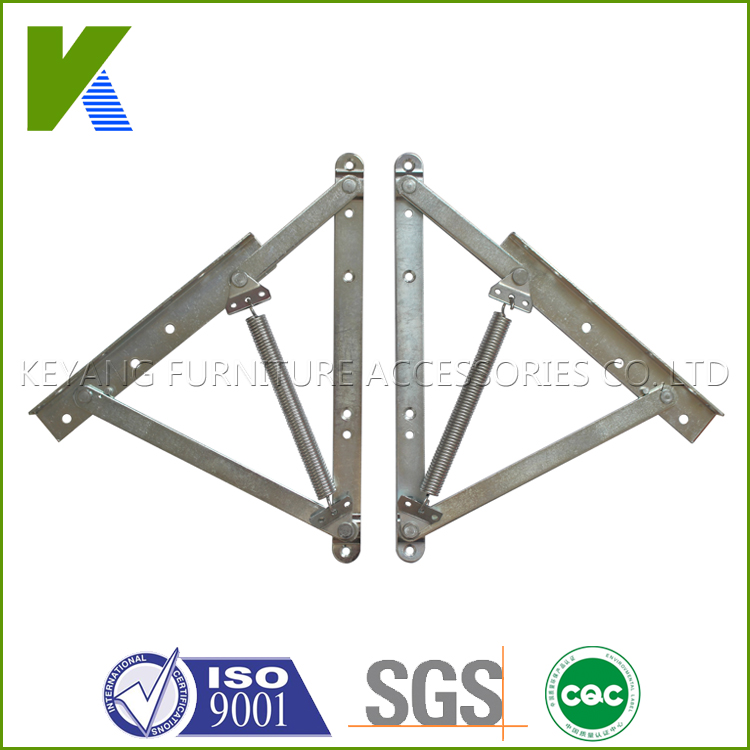 adjustable metal Sofa bed storage mechanism bed lift frame with spring KYA018-1(China (Mainland))
