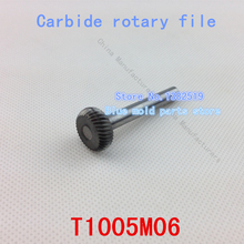 Cabeza : 10 mm, semi circular, rebabas del carburo, desbarbado archivos, acero de tungsteno rebabas, limas rotatorias, modelo : T1005M06