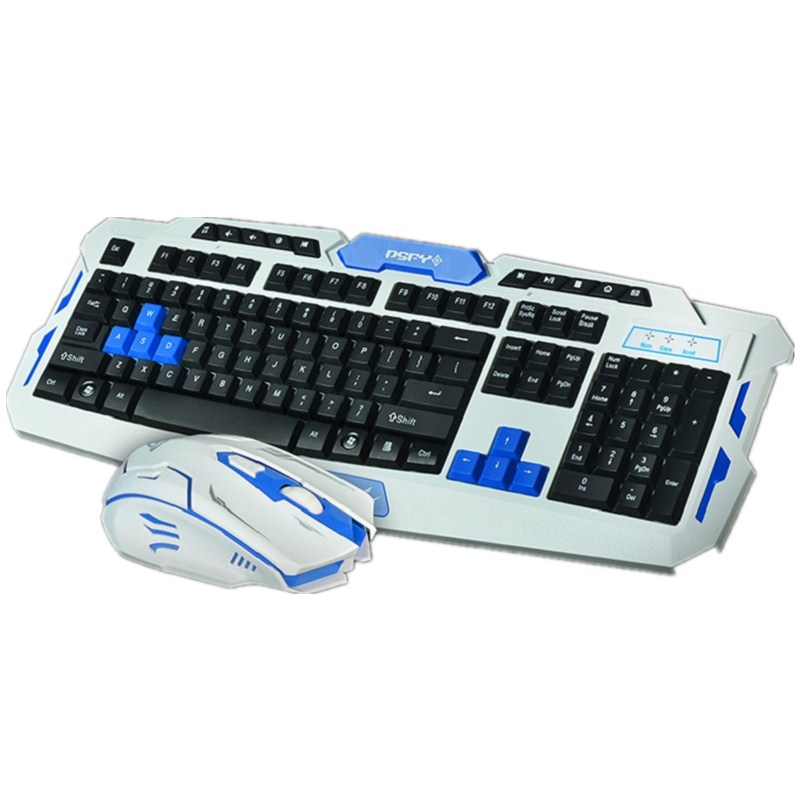 2016 Newest 2.4G usb gaming wireless keyboard and mouse combo set Newest Orignal Hot Selling Free shipping(China (Mainland))