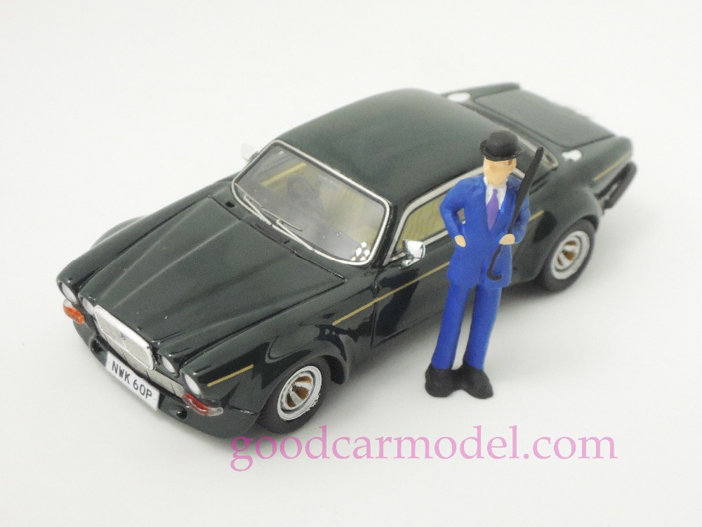 New ACE 1:43 Car Model The New Avengers Jaguar John Steed With Mini Figure Free Shipping From HK(China (Mainland))